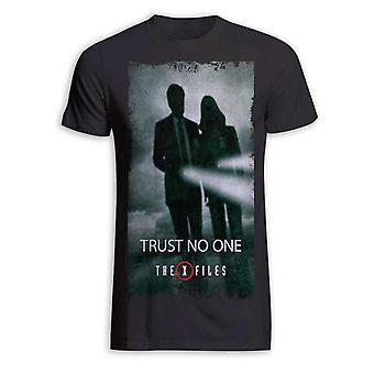 La t-shirt di X-files fidarti di nessuno