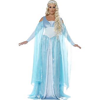 Costume médiéval de luxe inaugural de Smiffy