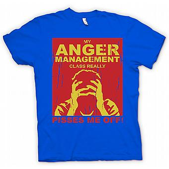 Womens T-shirt - My Anger Management Class Really Pisses Me Off