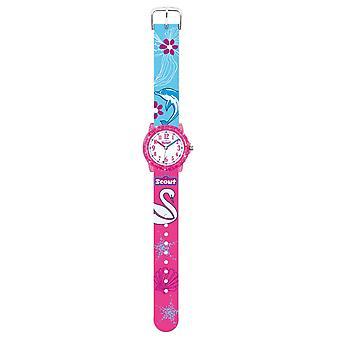 Scout gyerekek Watch learning Clock Crystal-Florida Girl 280305035