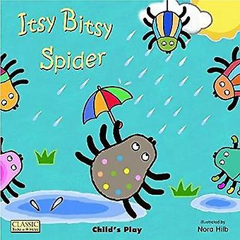 Itsy Bitsy Spider (klassieke boeken met grote gaten-boek)