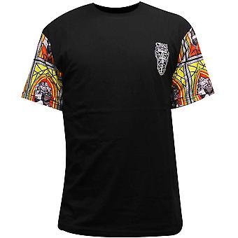 T-shirt Crooks & Castles Bishop Homme Noir