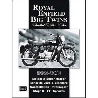 Royal Enfield Big Twins Limited Edition Extra (Brooklands boeken weg testreeks) [Illustrated]