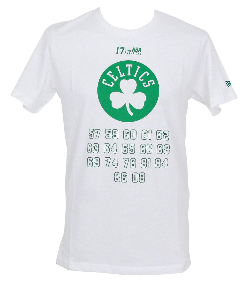 New Era NBA Team Champion T-Shirt ~ Boston Celtics