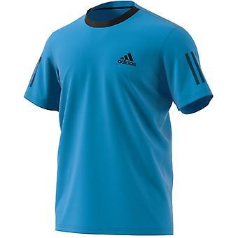 Adidas Club 3 paski Koszulka męska DU0861