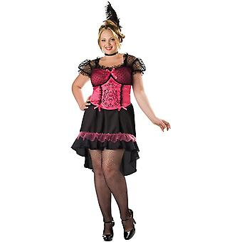 Saloon Woman Adult Costume