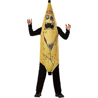 Zombie banan barn kostym