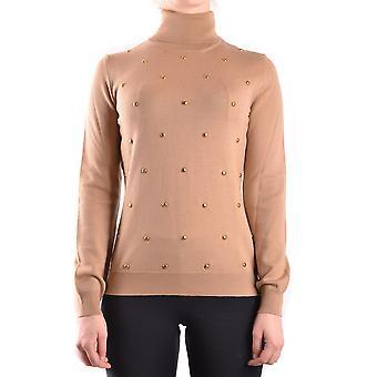 Love Moschino Ezbc061013 Women-apos;s Beige Wool Sweater