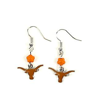 Texas Longhorns NCAA Sophie Style Dangle Earrings