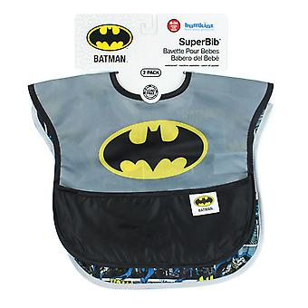 Hækspryd DC Comics Super Bib - Twin pack/2pc pack