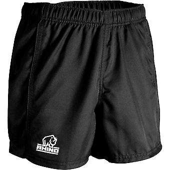 Rhino Mens Auckland Active Performance Sporty Rugby Shorts