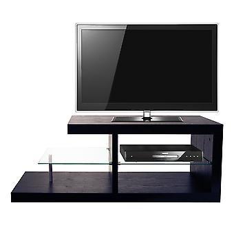 Halo - Chunky TV-Ständer / Unterhaltungs-Einheit / Couchtisch - schwarz