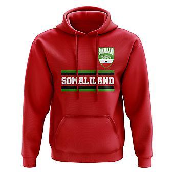 Somaliland kjerne fotball lands Hoody (rød)