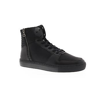 Creative Recreation Alteri  Mens Black Zipper High Top Sneakers Shoes