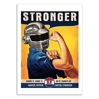 Art-Poster-Stronger-David Redon 50 x 70 cm