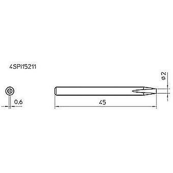 Weller 4SPI15211-1 soldeerpunt beitel vormig uiteinde maat 2 mm inhoud 1 PC (s)