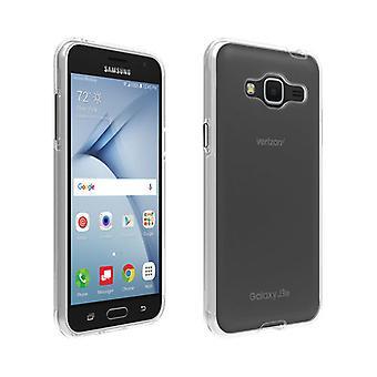 Caso de Shell de Verizon para Samsung Galaxy J3 V - claro