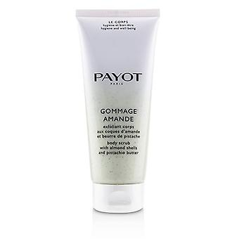Payot Gommage Amande Body Scrub with  Almond Shells & Pistachio Butter 200ml/6.7oz