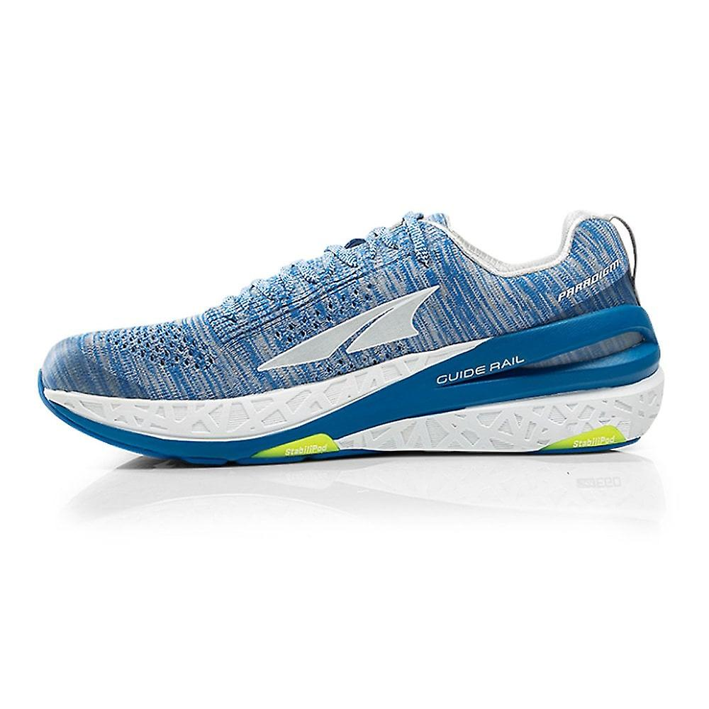 Altra Paradigm 4 Mens Zero Drop High Cushioning Road Running Shoes White/blue