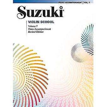 Suzuki Violin school, vol 7: piano acc. (Suzuki viool school)