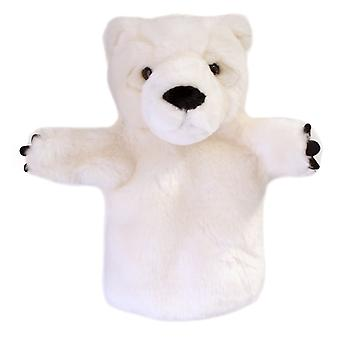 Hand Puppet - CarPets Glove - Polar Bear Soft Doll Plush PC008023