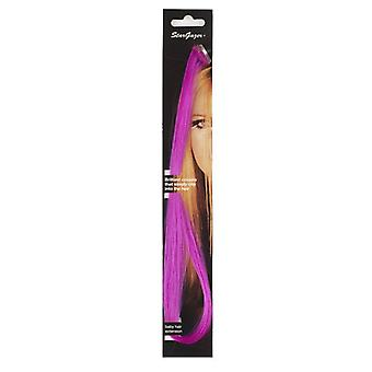 Stargazer Baby Clip In Hair Extensions ~ Fuschia