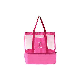 Large supple bag with Extra cooling space Pink