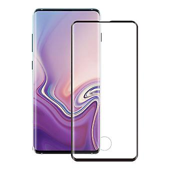 Screen Protector Tempered Glass Curved for S10 Plus Black