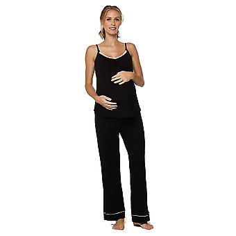 Belabumbum Lounge Chic Maternity & Nursing 3-pc. Pajama & Robe Set