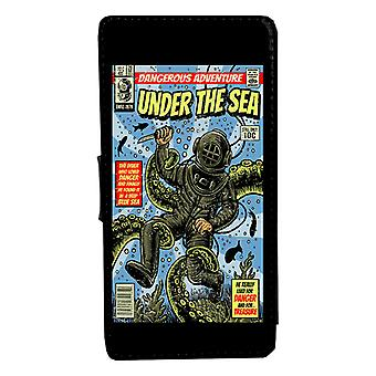iPhone 6/6s Under Sea Vintage comic book case shell Wallet