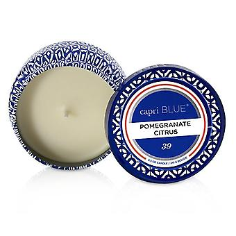 Capri Blue Printed Travel Tin Candle - Pomegranate Citrus 241g/8.5oz