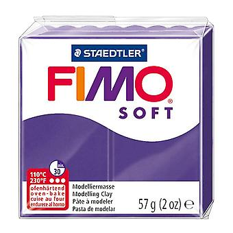 Fimo Soft Modelling Clay, Plum, 57 g