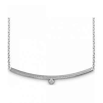 QUINN - Halskette - Damen - Silber 925 - Diamant - Wess. (H) - piqué - 272239