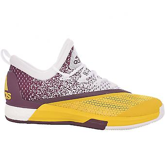 adidas Performance Mens Crazylight Boost 2.5 Low Lace Up Basketball Shoes Multi