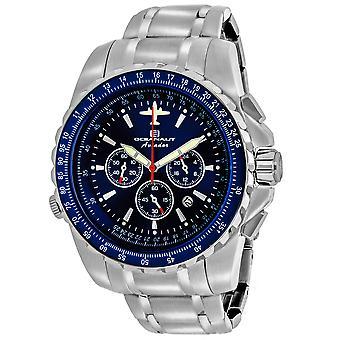 Oceanaut Men's Aviador Pilot Blue Dial Watch - OC0114