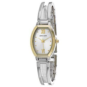 Anne Klein Damen's klassische silberne Zifferblatt Uhr - AK-2041SITT