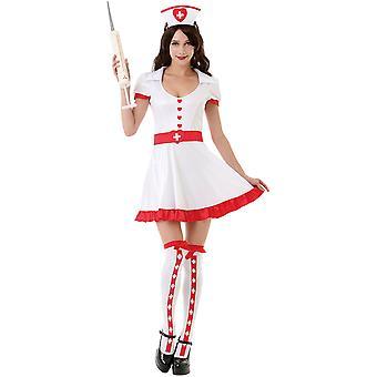 Night Shift sygeplejerske voksen kostume, S