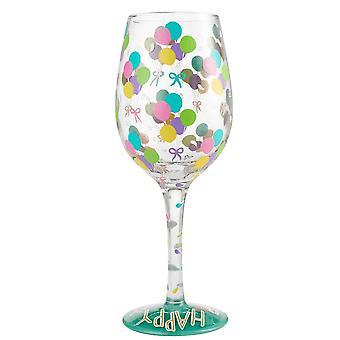 Lolita aniversário balões de vidro de vinho