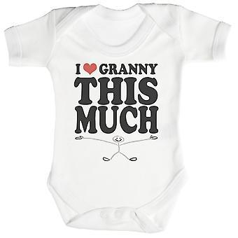 El amor por la abuela este mucho bebé mono / Pelele