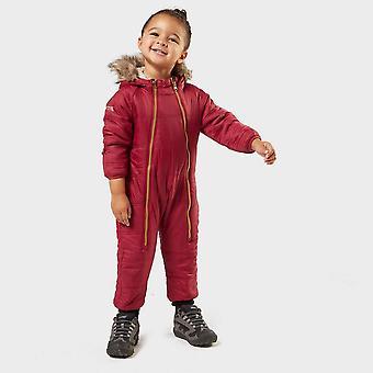 Nowe regaty Kids' Panya Fleece Lined Snowsuit Pink
