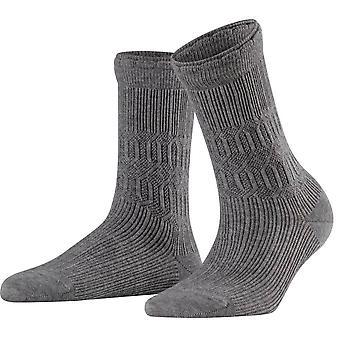 Falke Free-tyyliset sukat-Vaalea harmaameleerattu