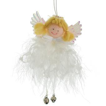Ragdoll Angel Hanging Christmas Ornament avec Jingle Bells