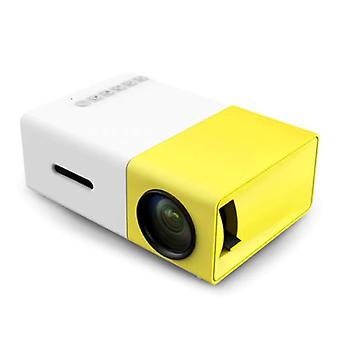 Salange YG300 LED Projector & Tripod - Mini Beamer Home Media Player Yellow