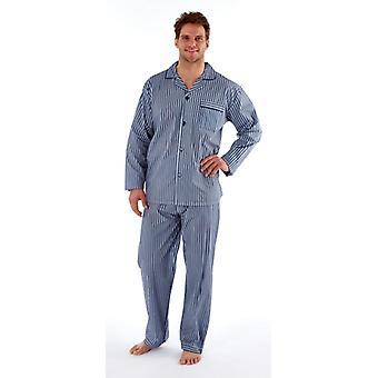 Casa delle stolte Denver Mens Striped Matching Pyjama Set