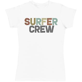 Surfer Crew - Matching Set - Baby Bodysuit & Kids T-Shirt, Mum & Dad T-Shirt