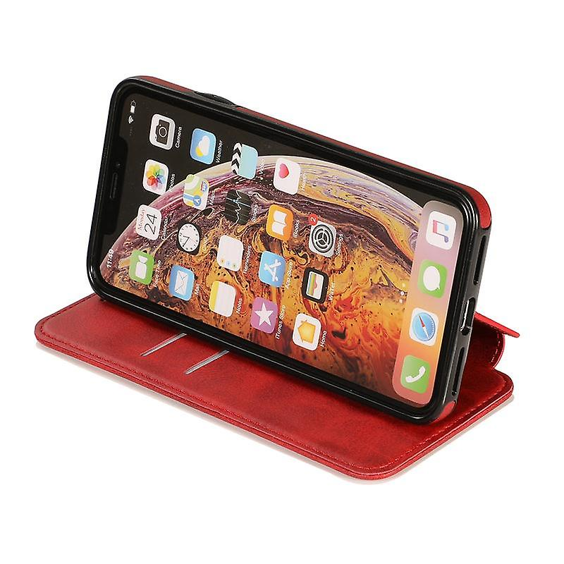 CaseGate phone case for Apple iPhone X / XS case cover - magnetic clasp, stand function and card compartment
