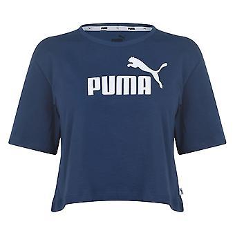 Puma Womens ESS gewas Tee T-shirt korte mouw top dames relaxed fit