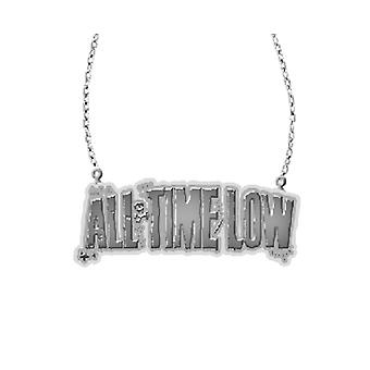 All Time Low Halskette band neue offizielle Logo Anhänger