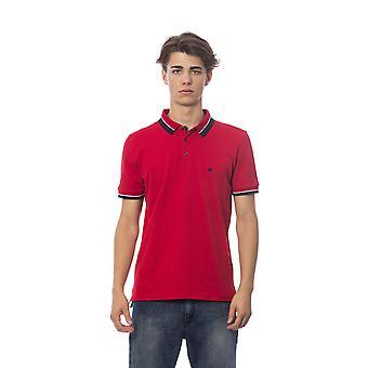 Men's Red Bagutta short sleevepolo