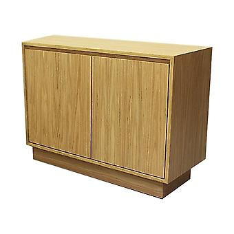 Fusion Living Contemporary Oak Piccola Credenza